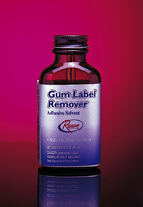 Gum Label Remover In Convenient Office Size